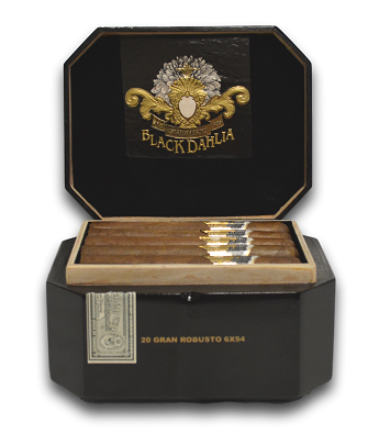 STK Black Dahlia image of open box front view 1